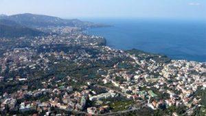 Breathtaking view of Sorrento Coast from Camaldoli