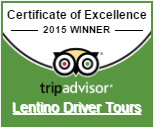 Certificate of Excellence 2015 - TripAdvisor