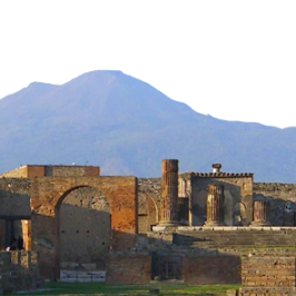 Excursion to Pompeii ruins