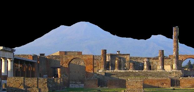 Excursion to Pompeii ruins