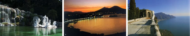 Enjoy Caserta, Naples and Ravello with Lentino Private tour