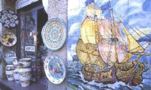 Ceramics from Vietri and Amalfi