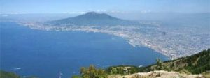 Naples from mount Faito in one of Lentino's private tours