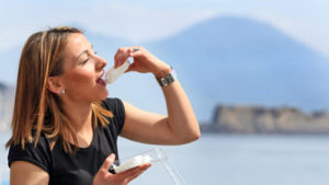 Taste the mozzarella cheese in Sorrento and Amalfi coast
